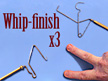 Whip-finish (Standard/Matarelli/Finger) - SBS